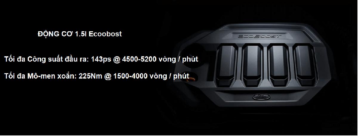 Động cơ 1.5L Ecoboost của Ford Territory mới 2021