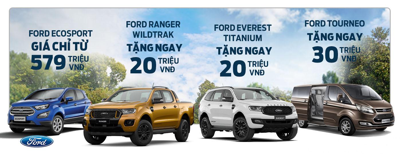Chương trình khuyến mãi xe Ford tháng 04/2019 tại Ford Bình Dương